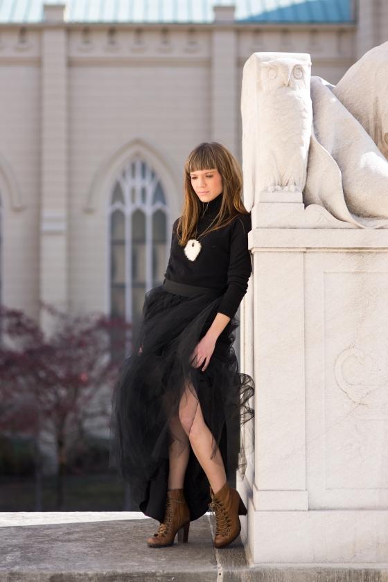 Ali Black Skirt-16