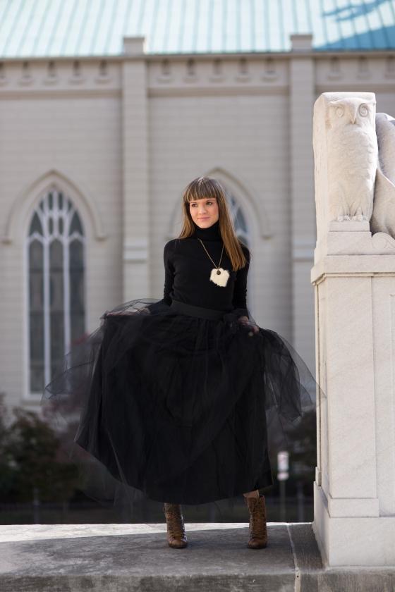 Ali Black Skirt-20