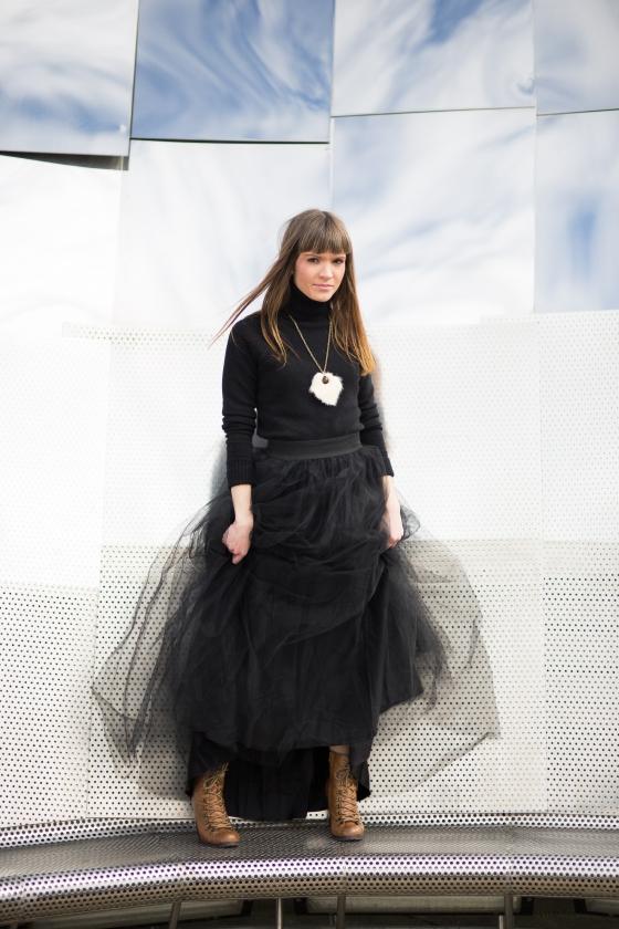 Ali Black Skirt-23
