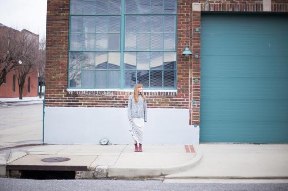 Monochromatic. That's Festive Fashion Blog. Thatsfestive.com